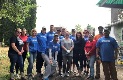 Wallace Neighborhood Center cleanup