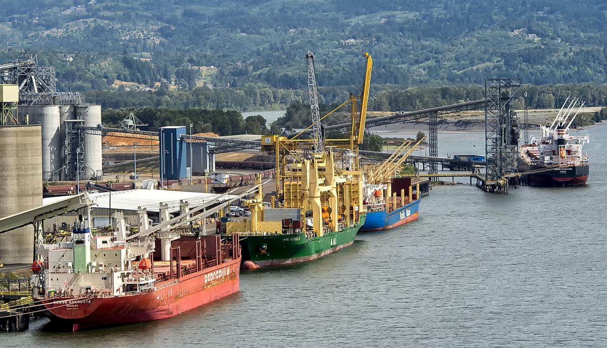 Port tonnage