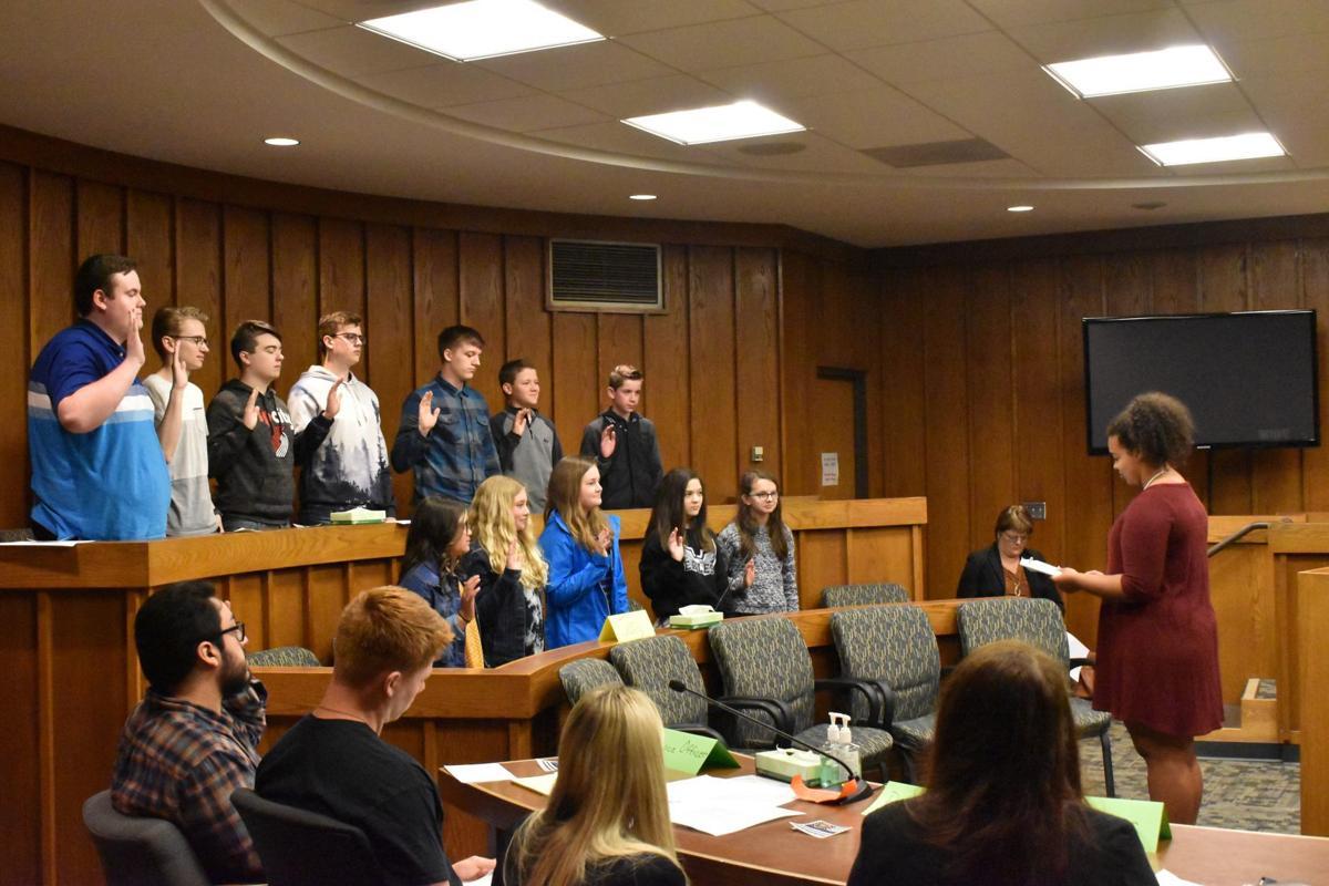 Mock trial jury