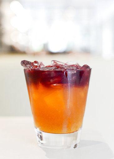wine sake and orange juice makes a memorable cocktail food