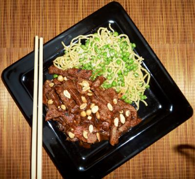 Hot and spicy beef