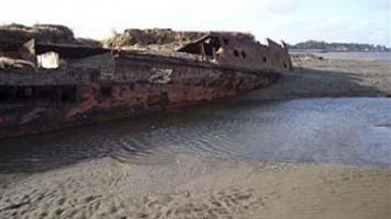 New Shifting Sands On Washington Coast Reveal Old Shipwreck Business Tdn