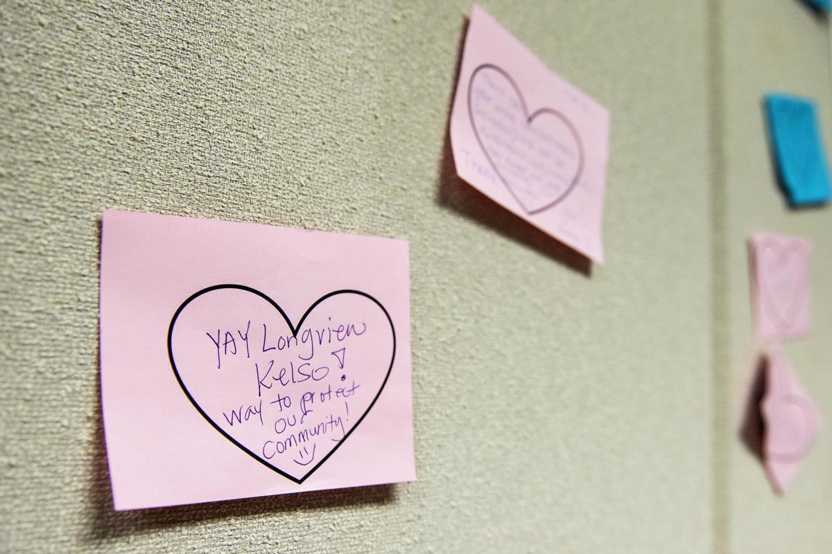 Hospital sticky notes