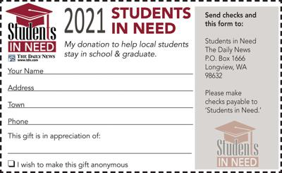 Students in Need coupon