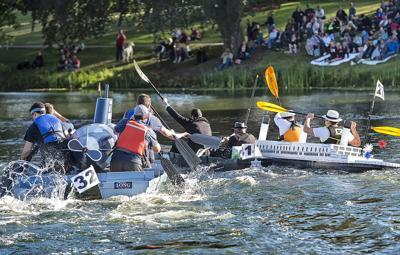 Cardboard Boat Regatta 2018