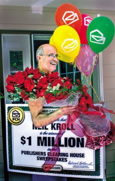 Castle Rock man wins $1 million from Publishers Clearing House