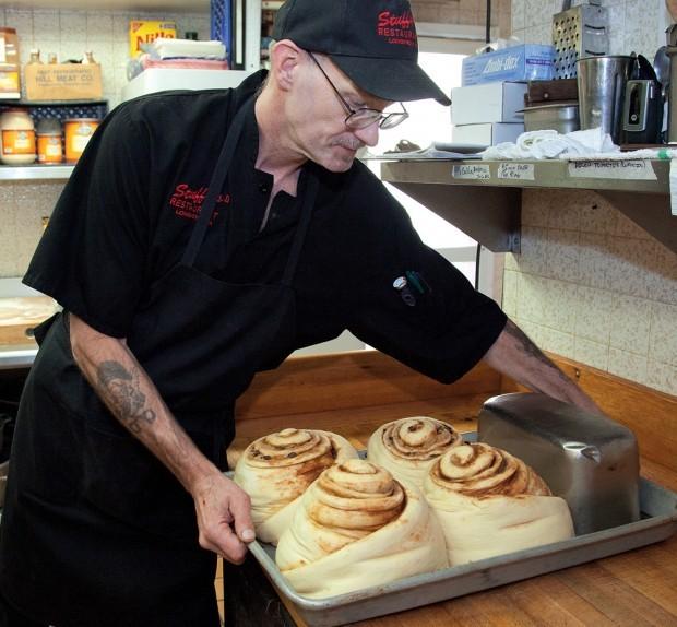 Food Network Chicago Cinnamon Rolls