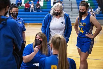 Girls Coach Jennifer Hamilton