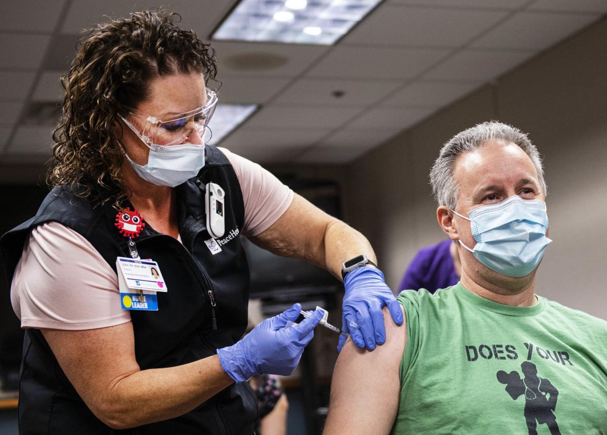 COVID-19 vaccine at PeaceHealth