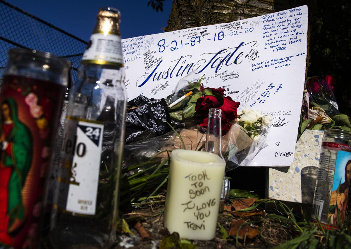 Justin Aguilar-Tofte memorial