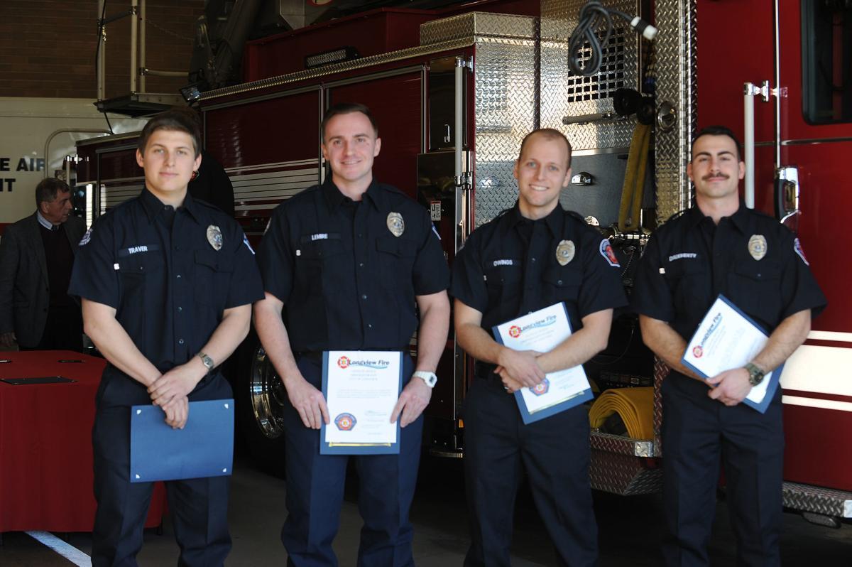 New Longview firefighters