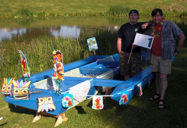 Gallery: 2011 Regatta Pit Photos | Longview Cardboard Boat ...