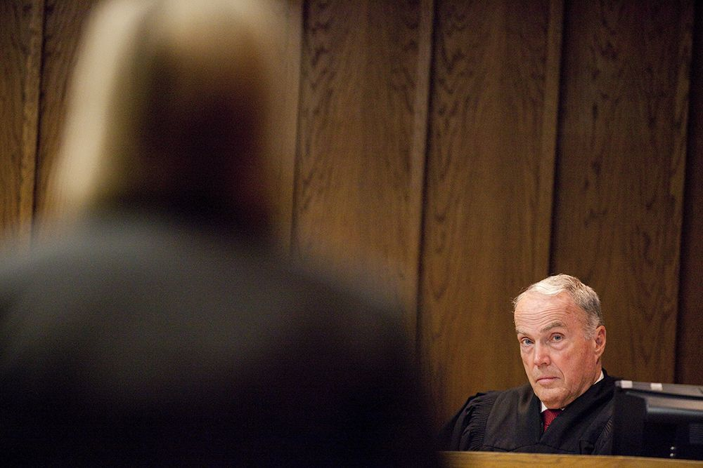 Retired Superior Court Judge James Warme
