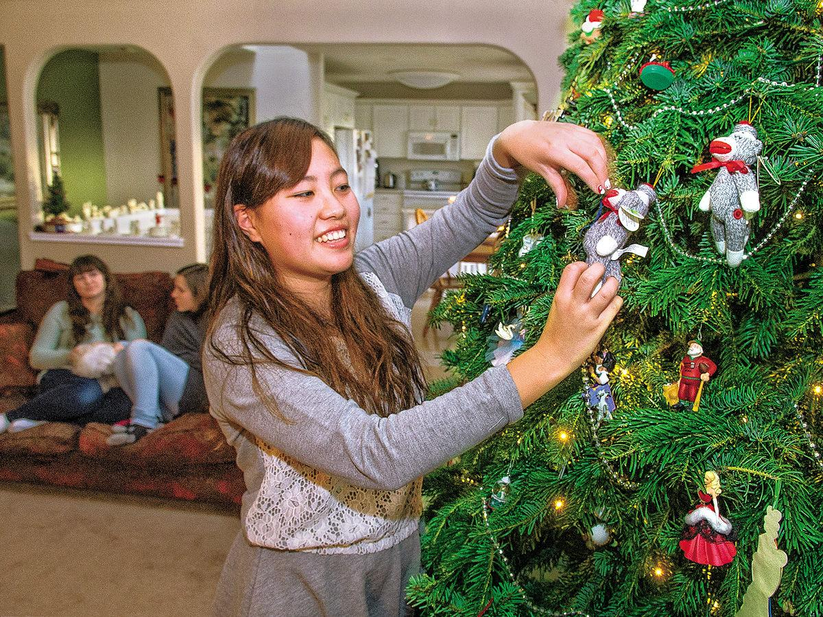 Exchange students offer fresh perspective on classic Christmas