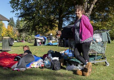 Homeless individuals share thoughts on weather shelter