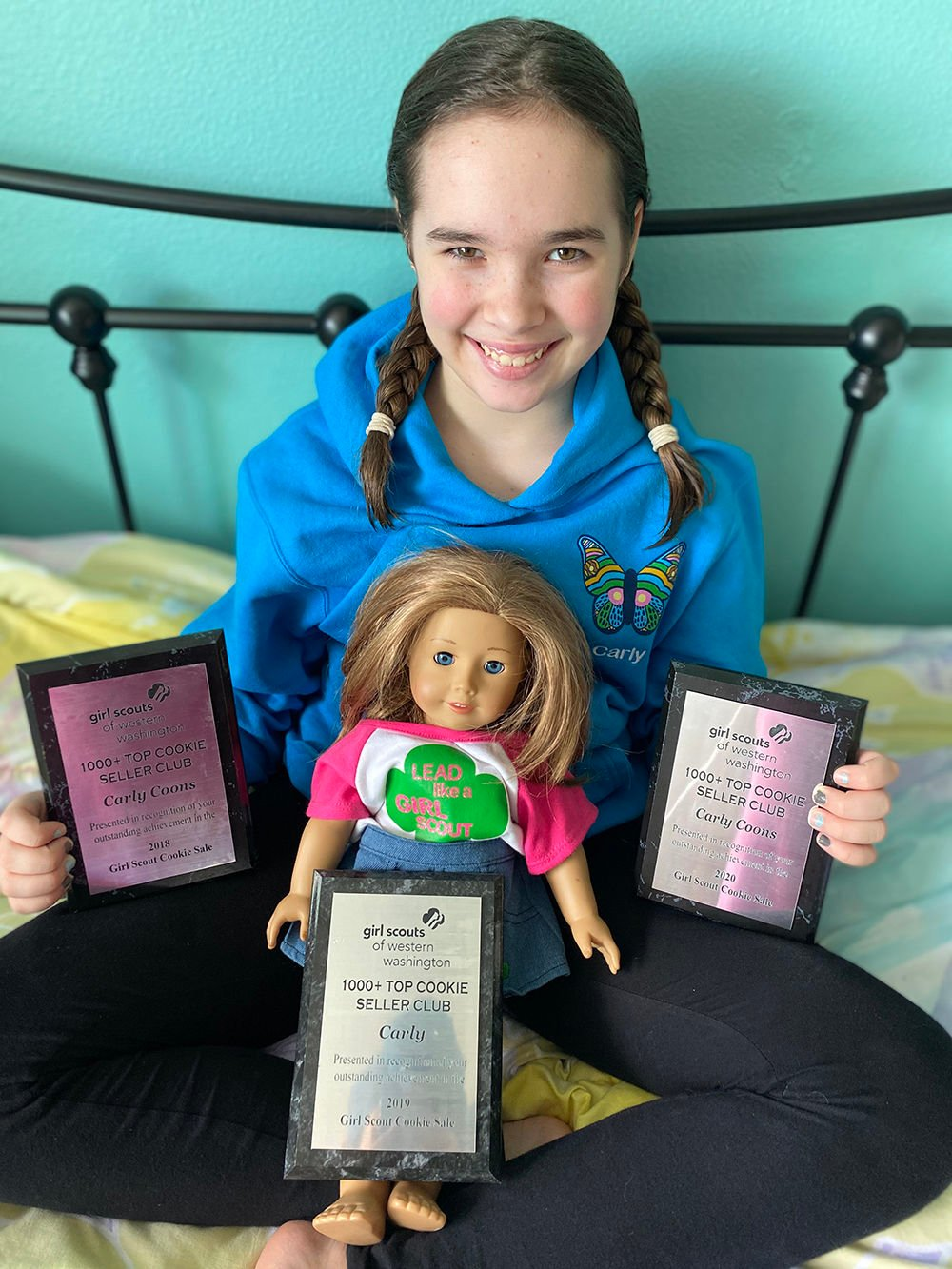 Girl Scout Carly Coons of Longview