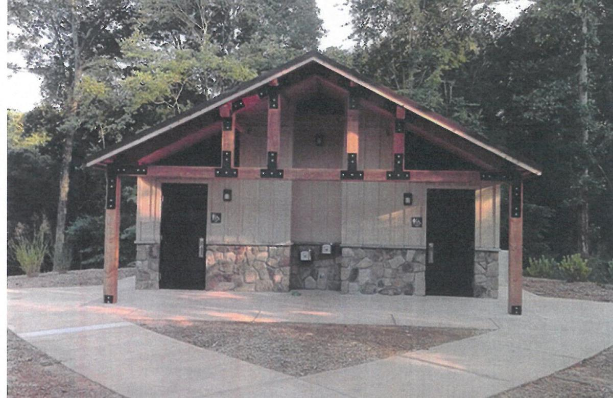 Willow Grove Park restroom renovation