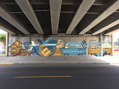 Kelso mural design