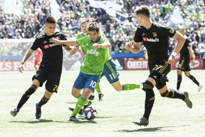 MLS Los Angeles FC Sounders Soccer