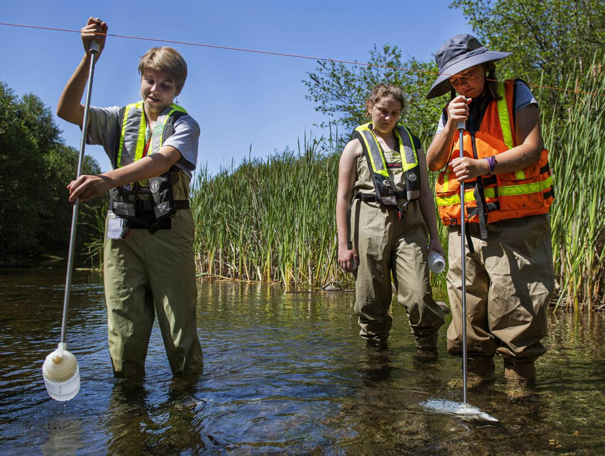 Measuring water sediment