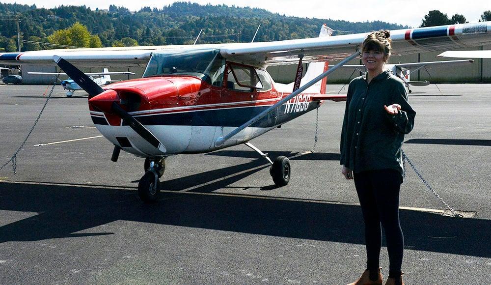 Cascade Air flight school plane