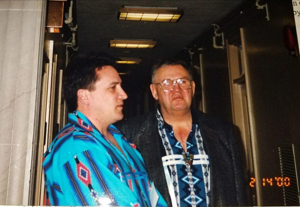 Former Tribal Chairman John Barnett