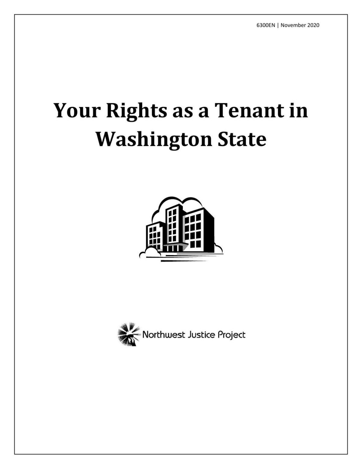 Northwest Justice Project: Your Rights as a Tenant in Washington State