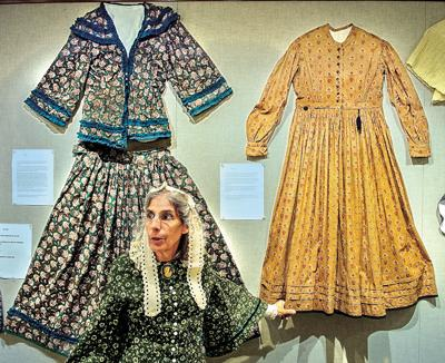 Civil War-era dresses