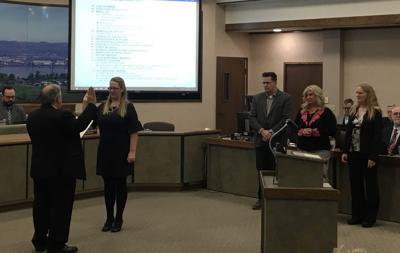 New council members sworn in