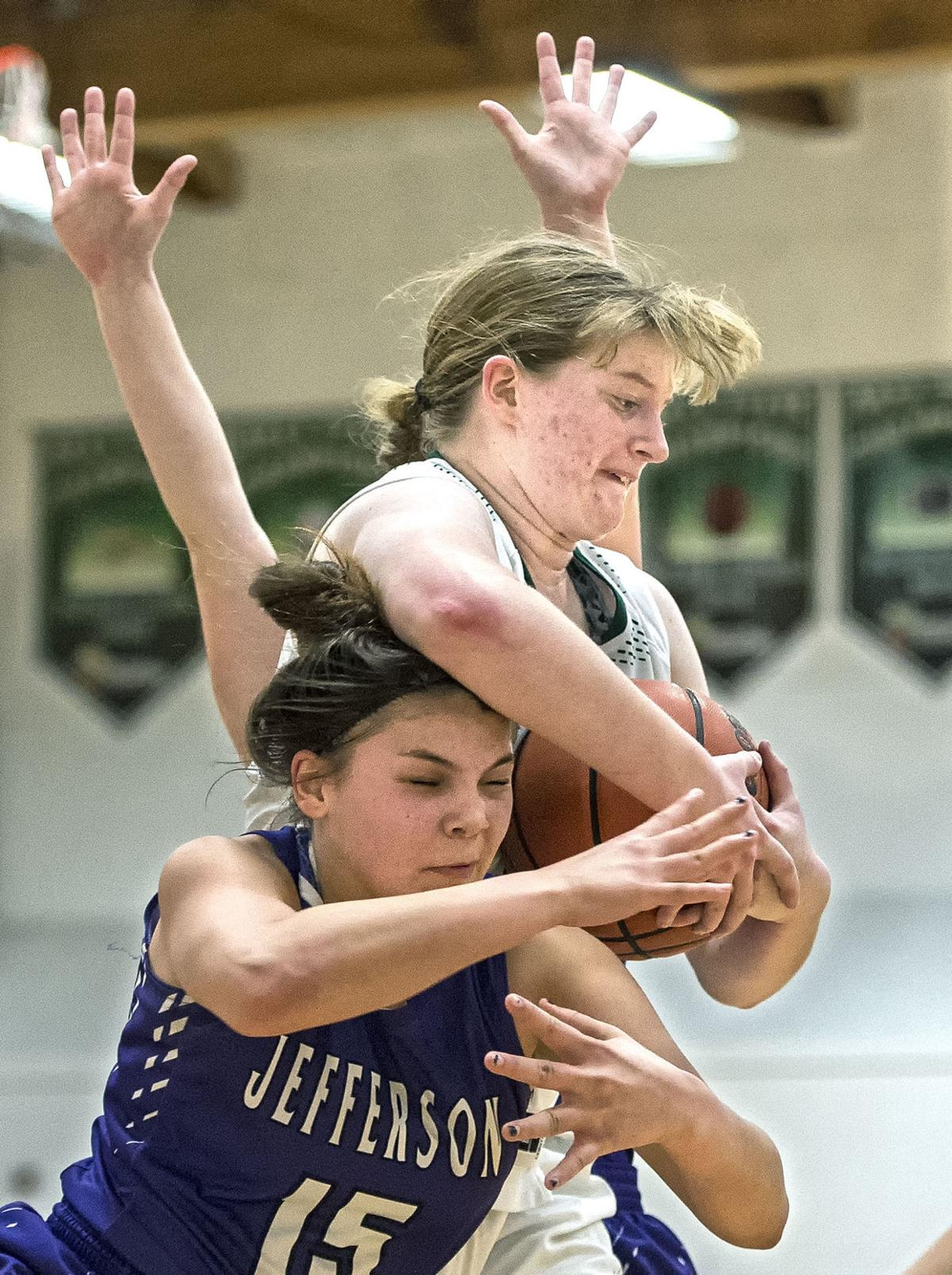 Rainier-Jefferson girls basketball