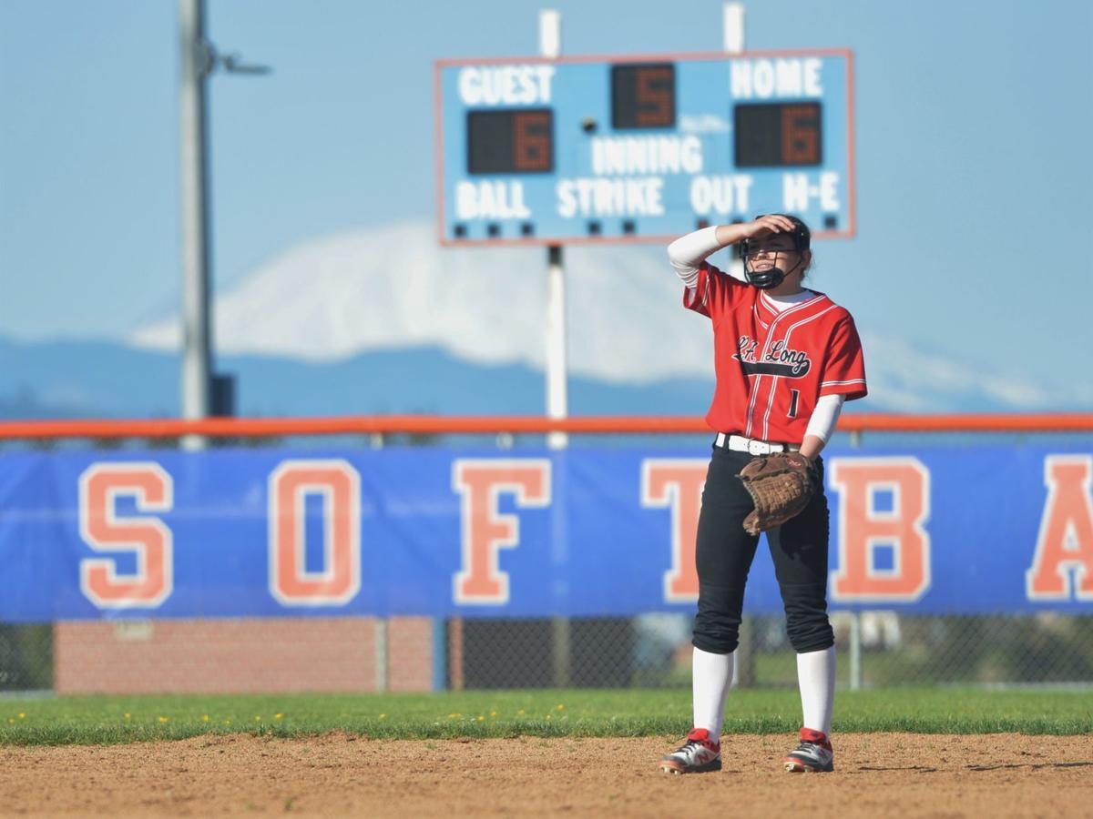 Kenna Kolbaba R.A. Long softball