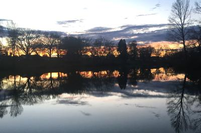 Saturday's Sacajawea sunset