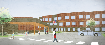 Lexington elementary rendering