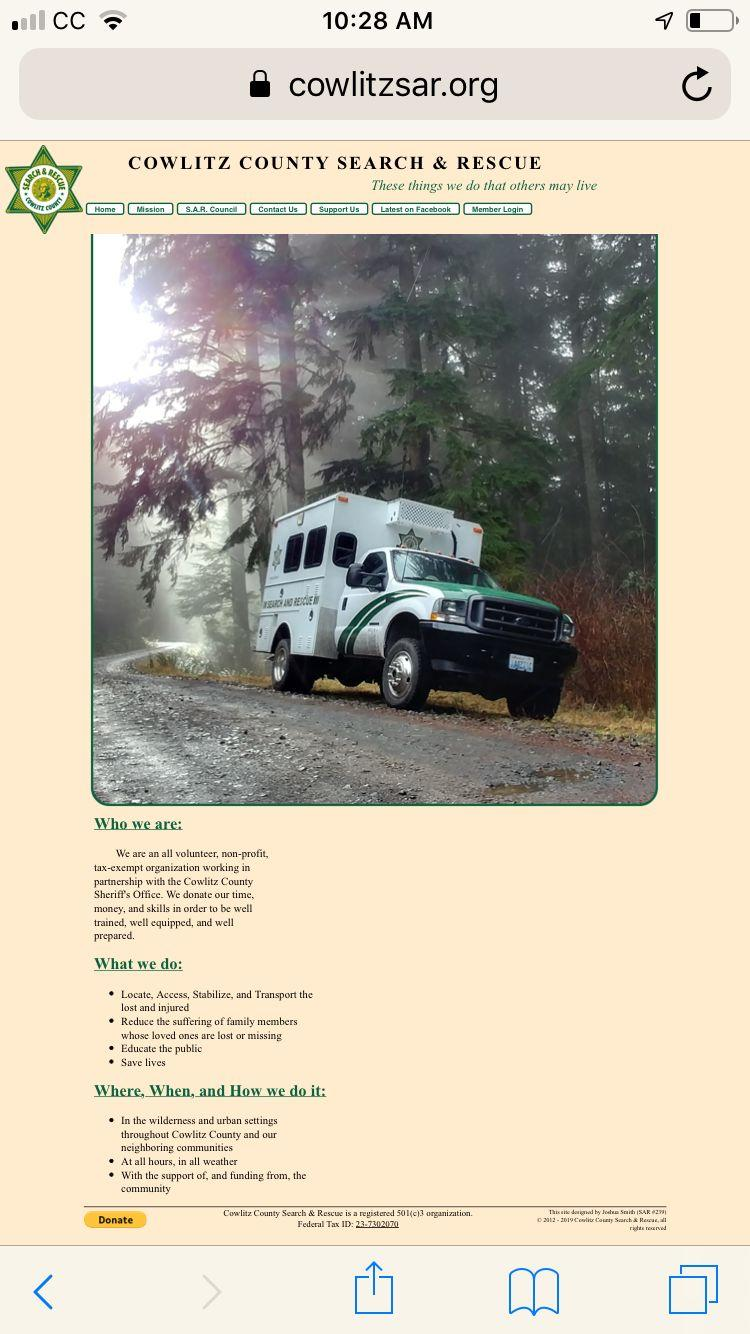 Cowlitz County Search and Rescue