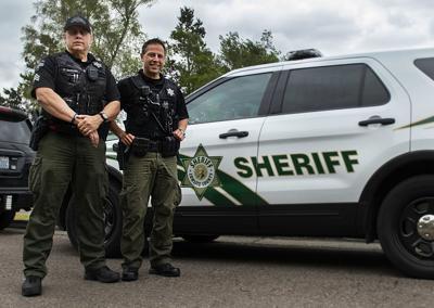 Cowlitz County Sheriff's deputies get new uniforms