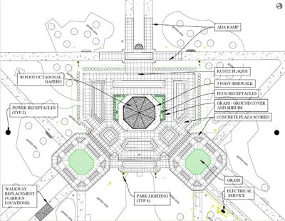 Designs for RA Long Park and gazebo | Local | tdn.com on diagrams of parks, diagrams of generators, diagrams of kitchens, diagrams of ponds, diagrams of gliders, diagrams of bridges, diagrams of plants, diagrams of trees, diagrams of fireplaces, diagrams of buildings, diagrams of landscaping, diagrams of steps, diagrams of churches, diagrams of barns, diagrams of decks, diagrams of roofs, diagrams of chairs, diagrams of flowers, diagrams of greenhouses, diagrams of houses,