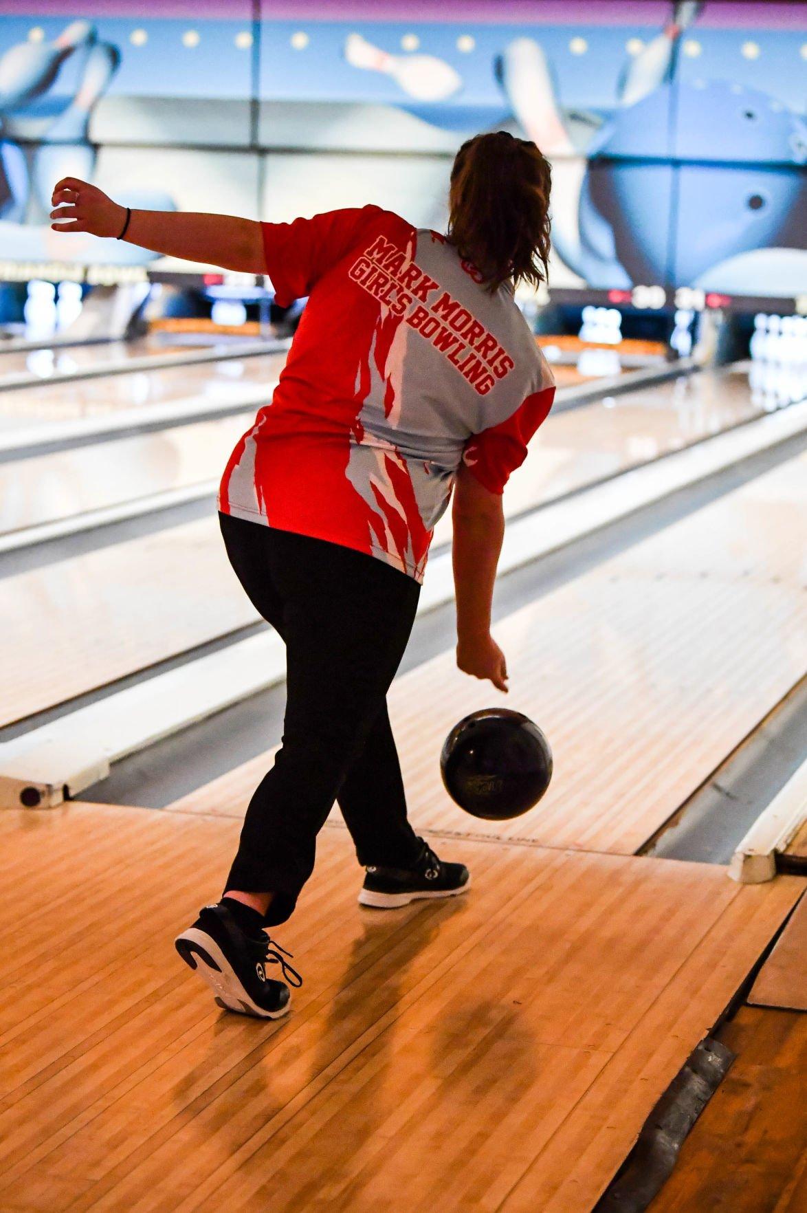 Megan McDonald bowls