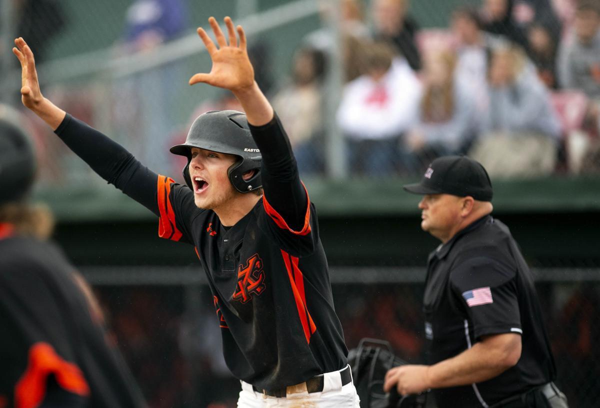Kalama Baseball sweeps Rainier 14-8 in state semifinal