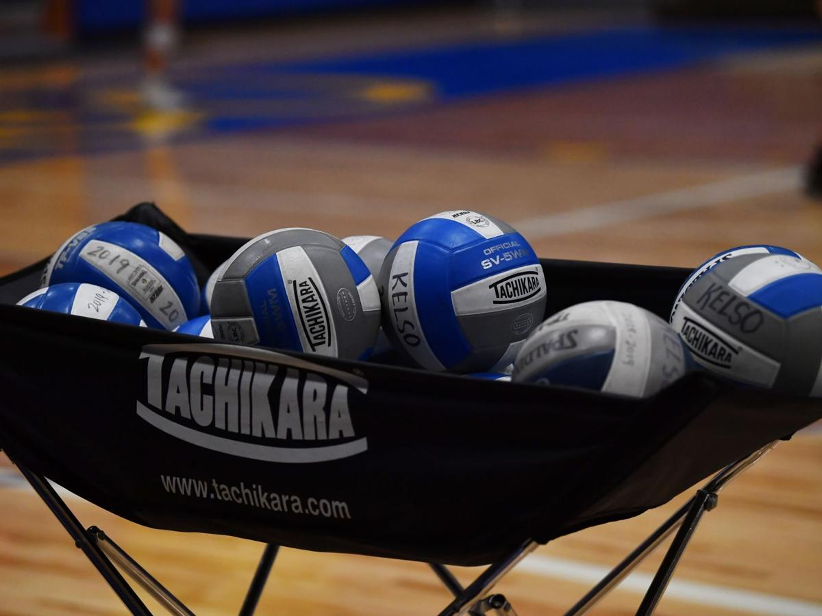 Kelso volleyball stock
