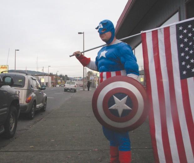 Captain America - Allen Mullins