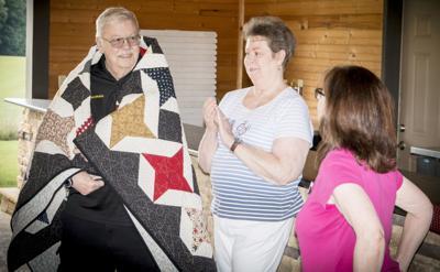 Local veteran receives Quilt of Valor