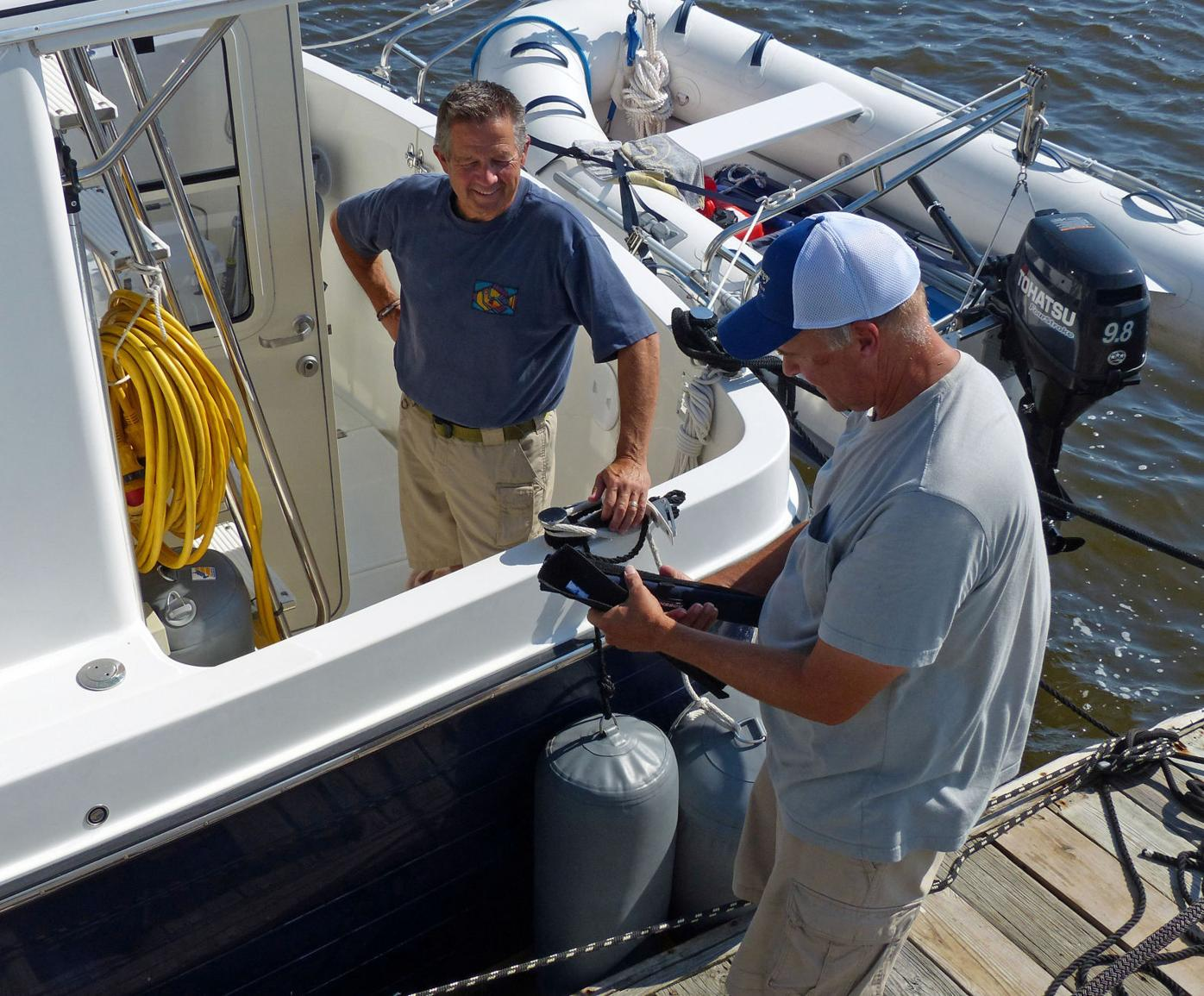 Boaters share experience of a lifetime