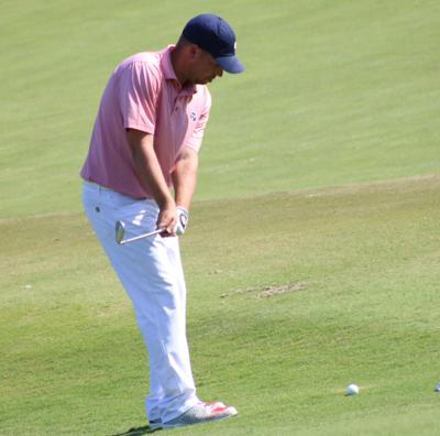Golf pro selected for major tournament