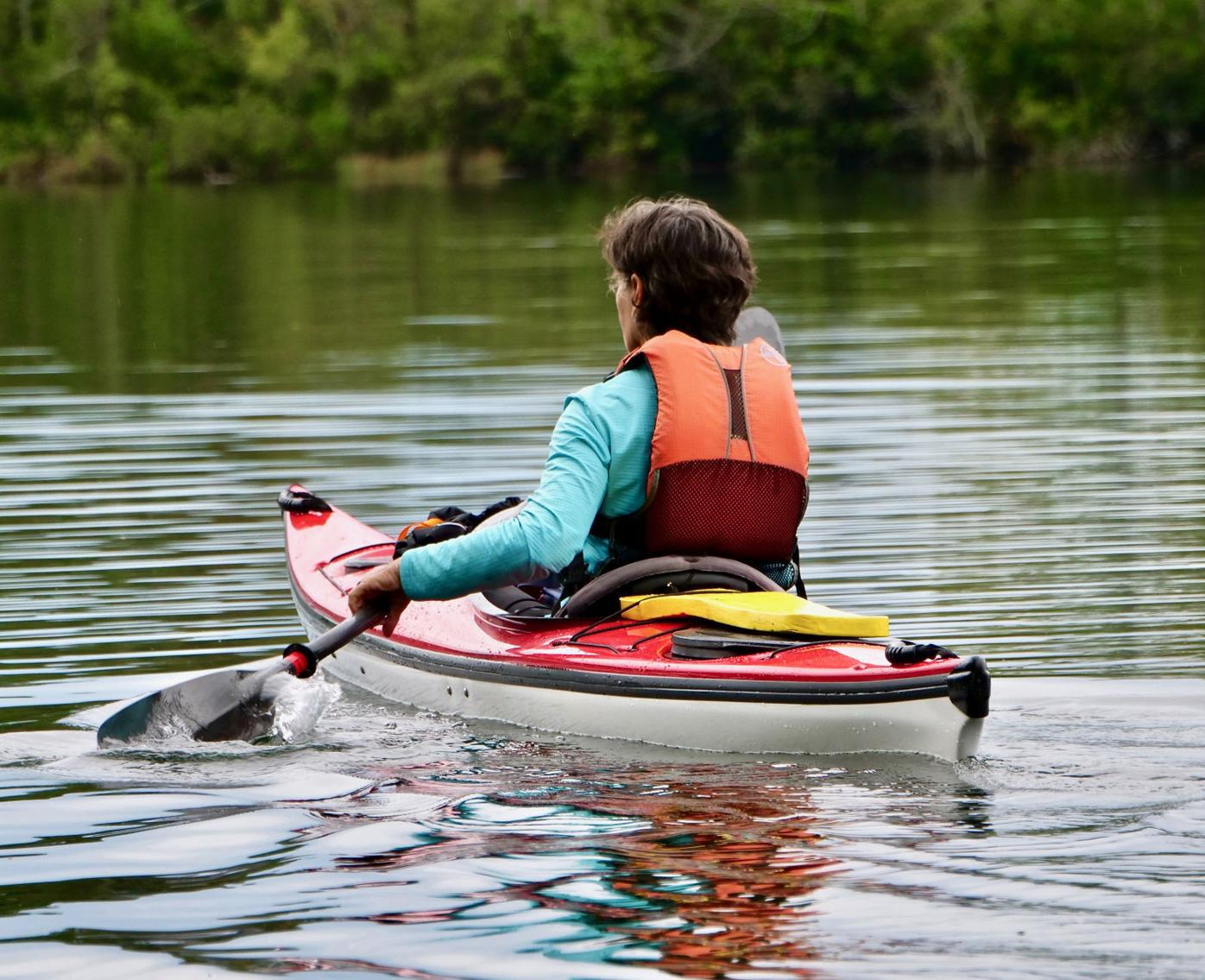 Villagers find escape on the waterways
