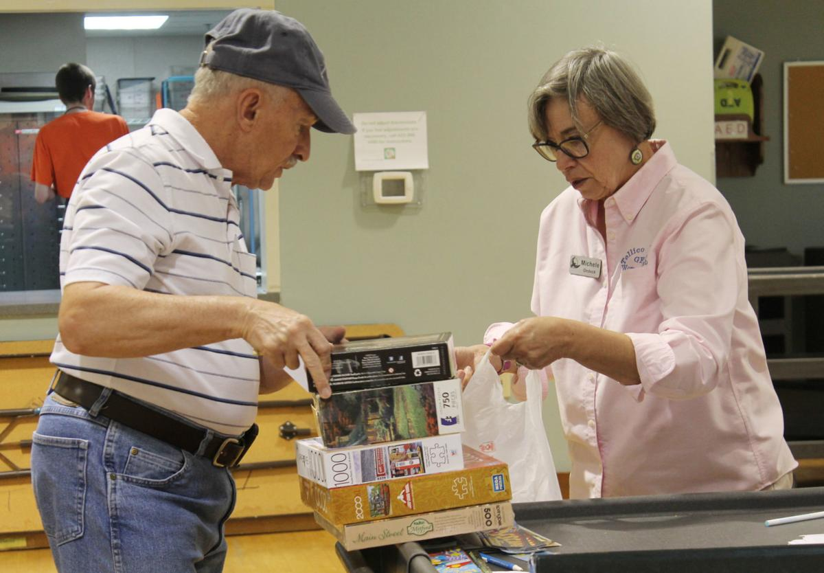 Book sale attracts community