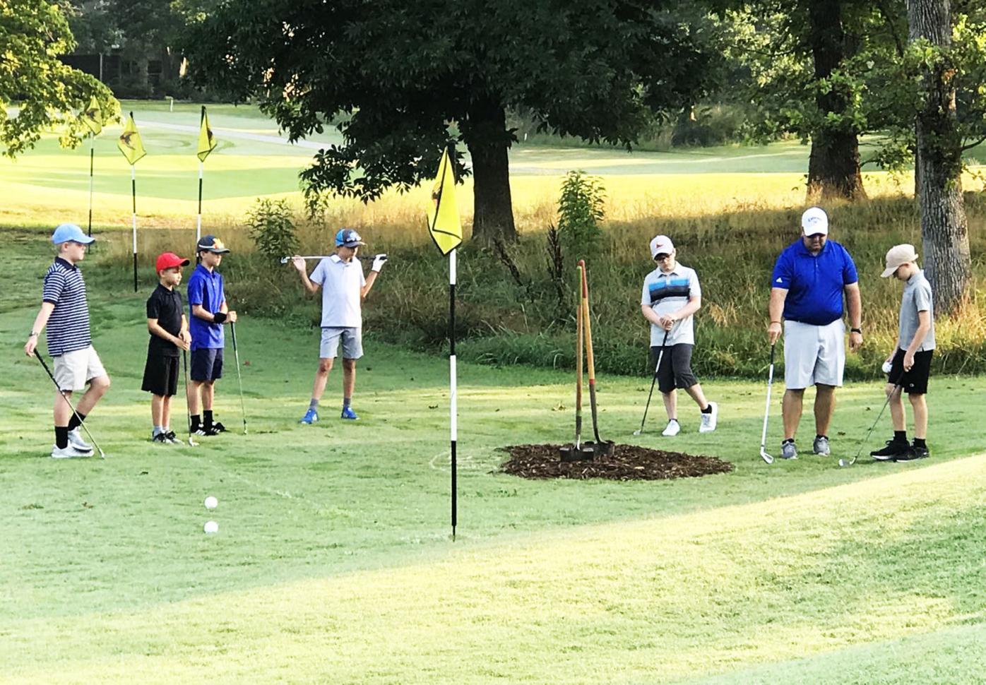 Village golf 'booming'
