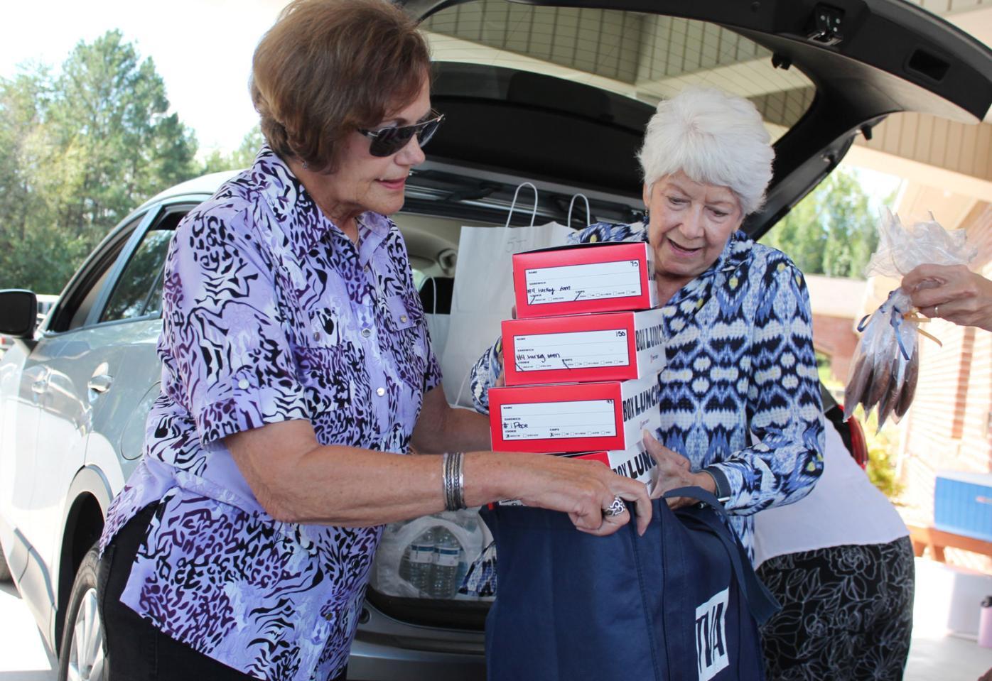 Good Sam picnic boxes raise support