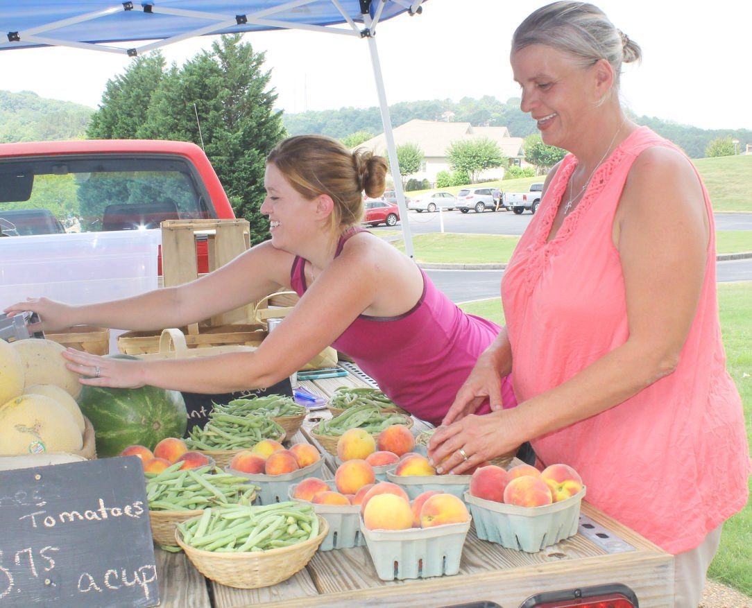 Farmer's market on rise