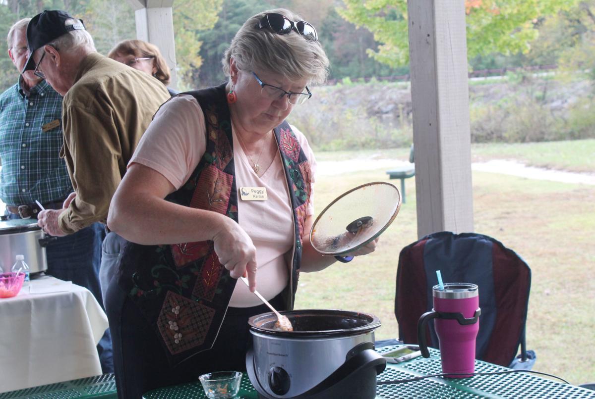 Villagers showcase chili talents