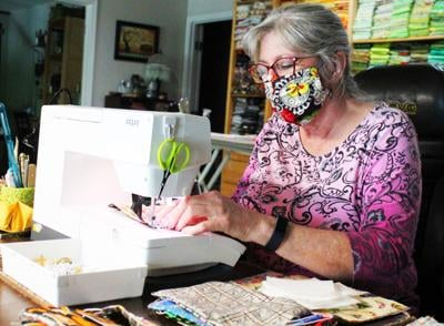 Community quilters sew to give back